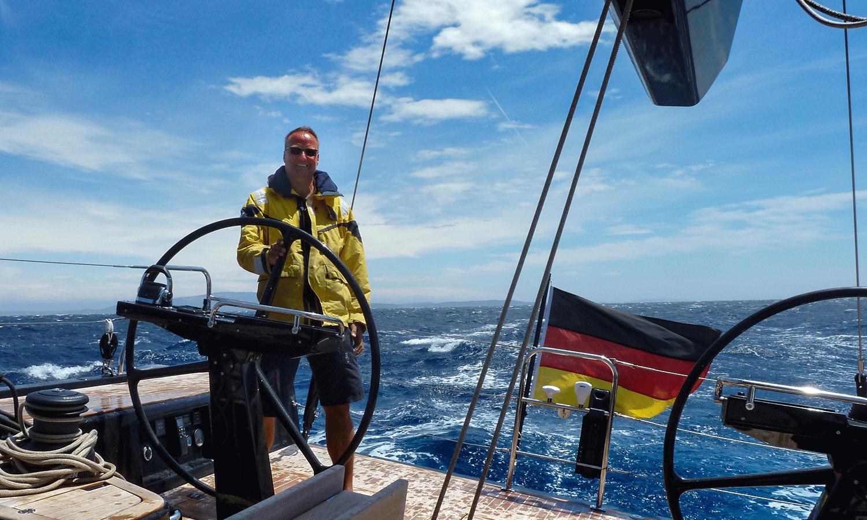 Yachtüberführung